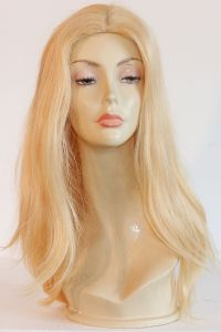 available for rent: blonde bombshell wig light blonde with platinum streaks, in human hair