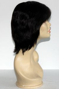 available for rent: Helen Curtis black wig, with very natural hair do look