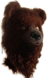 Bear costume mask
