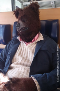 actor in bear costume
